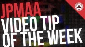 video tip of the week