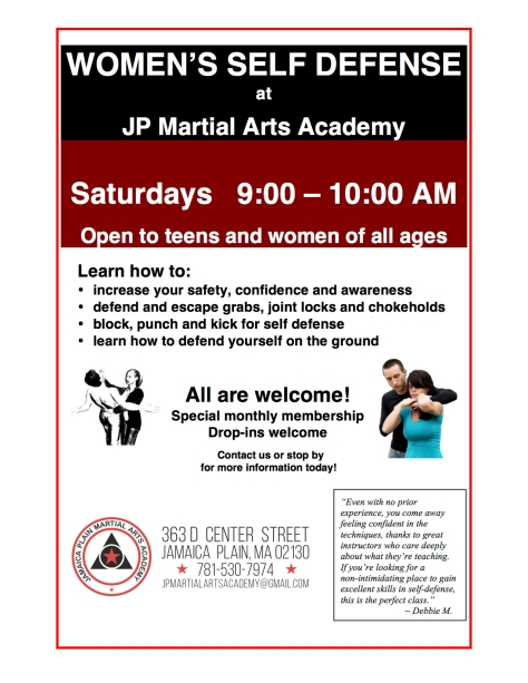 2017 Womens Self Defense flyer copy